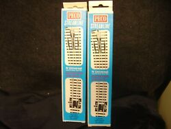 New N Scale 2 Peco Streamline Curved Left Hand Switches Sl-e87 Electrofrog