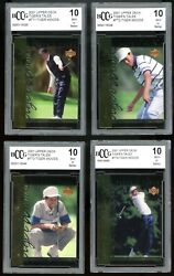Tiger Woods Rookie Tiger Tales Complete Set 1-30 All Graded Bgs Bccg 10 Mint+