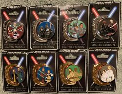 Star Wars Weekends 2009 - Complete Set Of 8 Le 1000 - Symbols Pin Collection