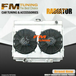 Mustang Cougar Radiator With Fan Shroud For Ford Mercury 3row 67-70 Aluminum 379