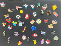 Disney Trading 41 Pin Lot -some Rack Cast Passholder Sold Out Le Htf Noc Pins