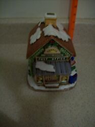 Lefton Colonial Christmas Village Post Office 06343 From 1987 3105