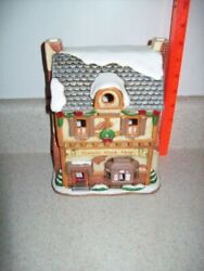 Lefton Colonial Christmas Village Brown's Bookstore 1993  1306