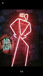 Vintage Hard To Find Rare Coors Red Light 1995 Real Glass Neon Sign