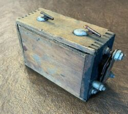 Vintage Ignition Coil Pulled From Replica Spark Transmitter...auto / Tractor