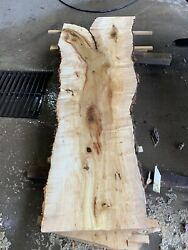 Boxelder Maple High Figured Flitch Book Matched. Free Shipping
