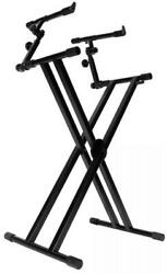On-stage Stands Ks7292 Double-x Ergo Lok Keyboard Stand With 2nd Tier