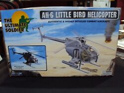 21st Century Toys Ah-6 Little Birdandnbsp1/6 Scale Helicopter New Mib Sealed Free Ship