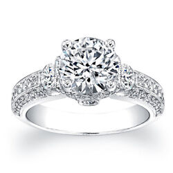 2.00 Ct Round Diamond Wedding Ring 14k Solid White Gold Womenand039s Ring Size 6 7 5