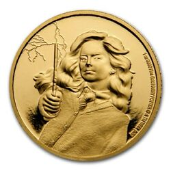 Niue - 2021 - 1 Oz Gold Proof Coin - Harry Potter - Hermione Granger