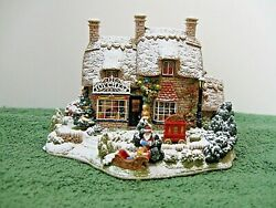 Lilliput Lane Snow Cottage L2486 The Christmas Present Mib With Deed.