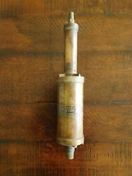 Vintage Brass Skinner Automatic Tire Pump Horseless Carriage 1906-1916 Buick