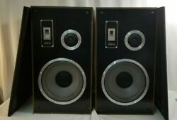 Vintage Pair Mesa 65 Speakers W 10 Woofers And New Speaker Foam Awesome Quality