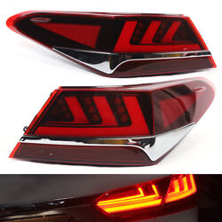 Led Tail Lights Fits Toyota Camry 2018-2019 Tail Light Rear Lamp Assembly Usa