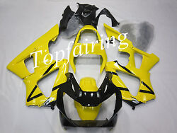 Yellow And Black Fairing Kit For Honda Cbr929rr 2000 2001 Abs Injection Body Work