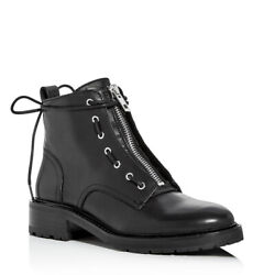 Rag And Bone Womenand039s Cannon Zip-up Leather Combat Boots