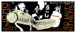 The Used Concert Gig Poster Athens, Ga 2003 - New