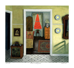 Into The Sitting Room, Limited Edition Pigment Print, Scott Kahn - Signed