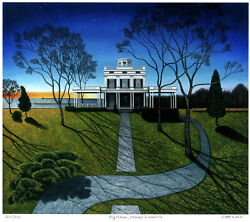 Big House, Homage To America, Limited Edition Pigment Print, Scott Kahn - Signed