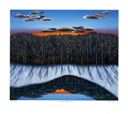 Winter Reflection, Limited Edition Pigment Print, Scott Kahn - Signed