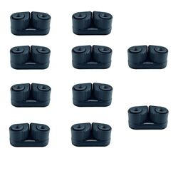 10x Marine Composite Cam Cleat Nylon Sailing Sailboat Ball Bearing Cam Cleat
