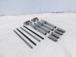 Harley Davidson Touring Dyna And Softail Intake Exhaust Pushrods Lifters And Covers