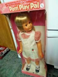 Ideal Patti Playpal Doll Vintage New Old Stocked Unopened Box