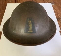 Authentic Wwi Era Us Aef 77th Infantry Division Statue Of Liberty Helmet