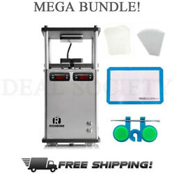 Rosinbomb M-60 Fully Automatic Commercial Heat Press Bundle - 3 Tons Of Pressure