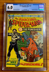 Amazing Spider-man 129 6.0 1974 1st Punisher Ow- White Pages Never Clean/press