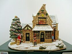 Lilliput Lane L2936 All I Want For Christmas Mib With Deed. Illuminated