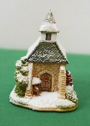 Lilliput Lane Snowed Holy Christmas Mint In Original Box With Deed.