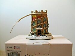 Lilliput Lane Ornament L3403 Heading Home For Christmas Mib With Deed.