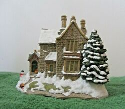 Lilliput Lane - Snowed The Old Vicarage At Christmas Mint In Box With Deed.