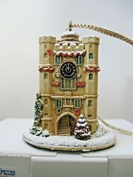 Lilliput Lane 2014 Ornament Time For Christmas L3731 Mint In Box With Deed.