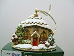 Lilliput Lane Christmas Ornament Mince Pie Mint In Original Box With Deed.