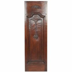 Nice Antique 18th Century Carved Oak Louis Xv Wood Architectural Salvaged Panel