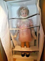 Shirley Temple Playpal Size Doll Vintage Danbury Mint Discontinued Doll