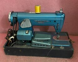 Vintage Rare Triumph Precision Special De Luxe Sewing Machine Made In Japan.