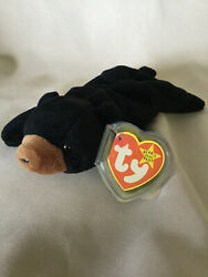 Ty Beanie Babies Blackie Ultra Rare New 2 Can Tags + More Investment Quality