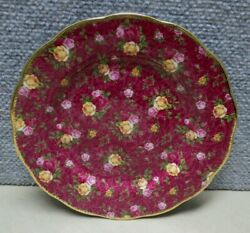 Royal Albert Old Country Roses Ruby Lace 8 Salad Plate