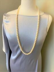 Opera Length Strand Of Cultured Pearls