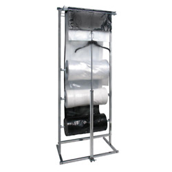 Chrome Metal Clothes Rack 29 In. W X 74 In. H