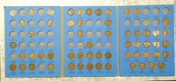 59 Coin Set 1909-1940 Lincoln Wheat Penny Cent - Early Dates Collection  527