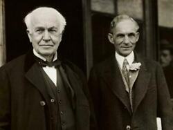 Henry Ford Thomas Edison Glossy Poster Picture Photo Banner Print Inventors 6583