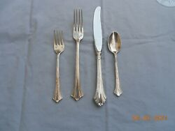 Luzon By Tuttle Sterling Flatware One 4 Piece Place Setting Dinner Size