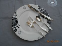 Prelude By International Sterling One 4 Piece Place Setting Place Size