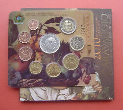 San Marino 2010 1 Cent - 5 Euro 9 Coins Mint Set With Silver Coin