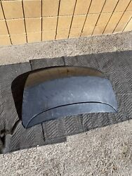 Bentley Continental Gt Trunk Lid With Wing / Spoiler 3w8 827 173 A Gray Oem
