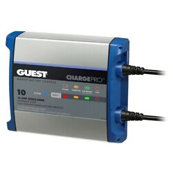 Guest 2710a On-board Battery Charger 10a / 12v 1 Bank 120v Input